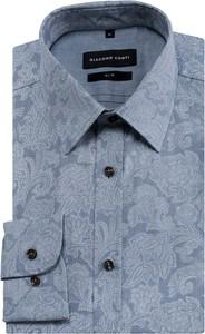 Niebieska koszula Giacomo Conti w młodzieżowym stylu
