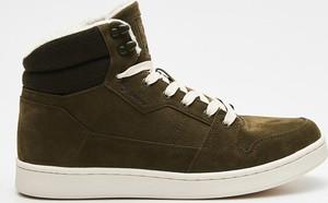 Cropp - Wysokie sneakersy - Khaki