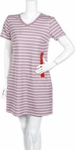 Fioletowa sukienka 32 Degrees z dekoltem w kształcie litery v sportowa w stylu casual