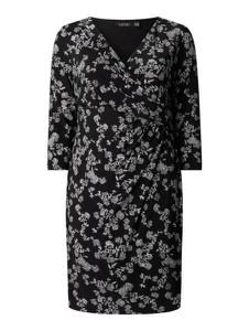 Sukienka Ralph Lauren z długim rękawem mini z dekoltem w kształcie litery v