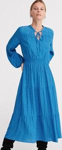 Niebieska sukienka Reserved w stylu casual