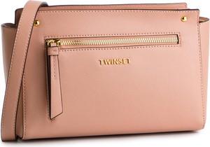 Różowa torebka Twinset w młodzieżowym stylu