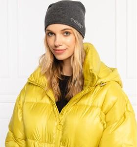 Żółta czapka Twinset