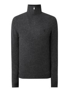 Czarny sweter McNeal z wełny