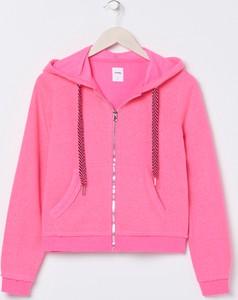 Różowa bluza Sinsay krótka