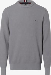 Sweter Tommy Hilfiger z bawełny w stylu casual z okrągłym dekoltem