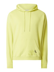 Żółta bluza Calvin Klein z bawełny