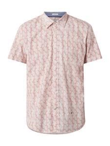 Różowa koszula Pepe Jeans z krótkim rękawem