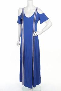 Niebieska sukienka Doca maxi