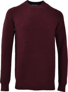 Fioletowy sweter Gentiluomo w stylu casual