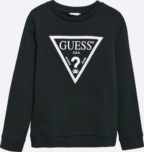 Czarna bluza dziecięca Guess Jeans