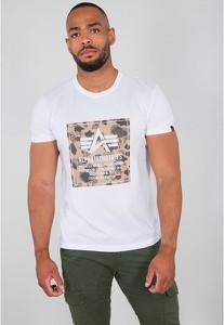 T-shirt Alpha Industries z nadrukiem z krótkim rękawem