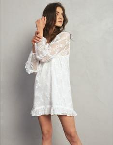 Sukienka Oho Design mini z dekoltem w kształcie litery v