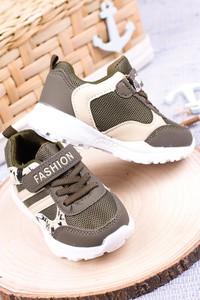 Zielone buty sportowe dziecięce Casu