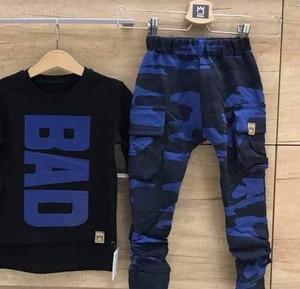 Granatowe spodnie dziecięce MIMI dla chłopców