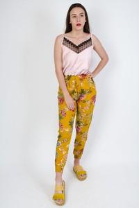 Żółte spodnie Olika