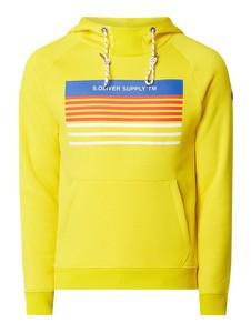 Żółta bluza S.Oliver Red Label z nadrukiem