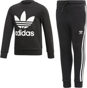 Czarny dres dziecięcy Adidas Originals z dzianiny