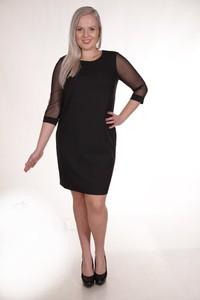 Sukienka Fokus w stylu klasycznym midi dla puszystych