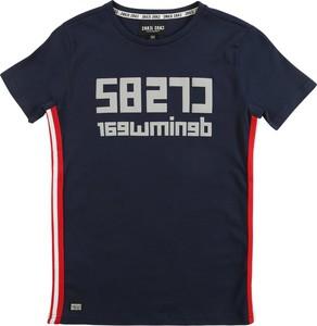 Granatowa koszulka dziecięca Cars Jeans
