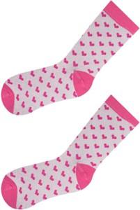 Różowe skarpetki YoClub dla dziewczynek