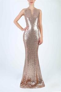 Sukienka Soky&Soka w stylu glamour bez rękawów