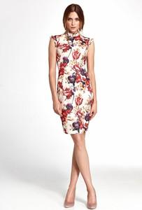 Sukienka Merg bez rękawów mini prosta