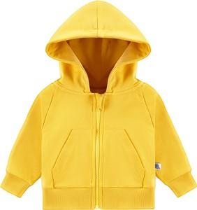 Żółta bluza dziecięca Tuszyte z bawełny