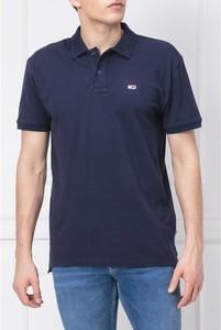 Koszulka polo Tommy Jeans w stylu casual z krótkim rękawem