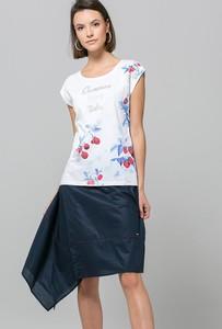 Bluzka Monnari z krótkim rękawem z okrągłym dekoltem