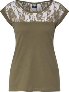 Zielona bluzka Urban Classics bez rękawów z bawełny w stylu casual