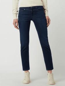 Granatowe jeansy Cambio z bawełny