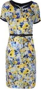 Sukienka VitoVergelis midi z dekoltem w kształcie litery v w stylu casual