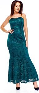 Zielona sukienka Ptakmoda.com maxi