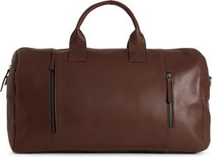 Brązowa torba podróżna Still Nordic ze skóry