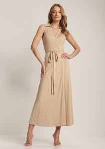 Sukienka Renee kopertowa bez rękawów