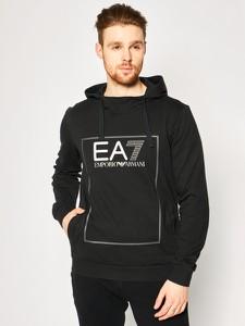 Czarna bluza EA7 Emporio Armani