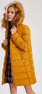 Żółta kurtka Diverse długa