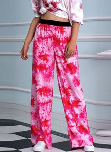 Różowe spodnie Cikelly