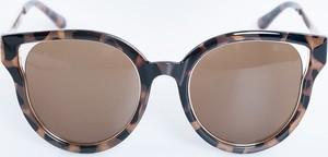 Brązowe okulary damskie Big Star