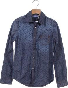 Granatowa koszula dziecięca Gaudi dla chłopców