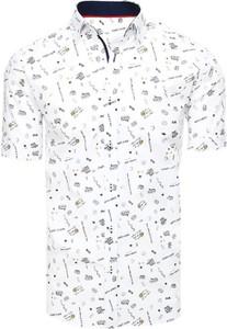 Koszula Dstreet z klasycznym kołnierzykiem z krótkim rękawem z bawełny
