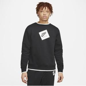 Czarna bluza Nike z nadrukiem