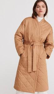 Brązowy płaszcz Reserved