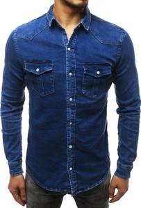 Koszula Dstreet z długim rękawem z jeansu