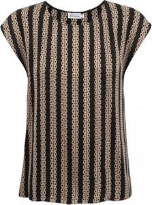 Bluzka Premiera Dona z okrągłym dekoltem w stylu casual