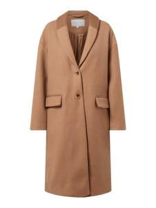 Brązowy płaszcz Vila w stylu casual
