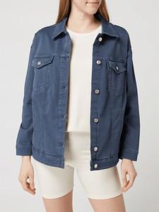 Niebieska kurtka S.Oliver Red Label z bawełny w stylu casual