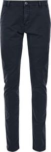 Granatowe spodnie Q/s Designed By - S.oliver