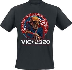T-shirt Emp w młodzieżowym stylu z krótkim rękawem